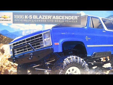 RC ADVENTURES - Vaterra 1/10 1986 Chevy K-5 Blazer Ascender