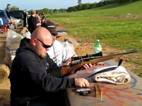 myself shooting my grandfathers rem 600