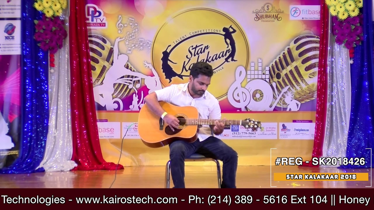Registration NO - SK2018426 - Star Kalakaar 2018 Finals - Performance