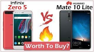 Infinix Zero 5 vs Huawei Mate 10 Lite [ Honor 9i ] Full Comparison - Which Is Better?