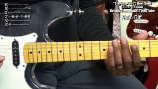 How To Play STAYING ALIVE  The Bee Gees On Guitar EEMusicLIVE EricBlackmonGuitar