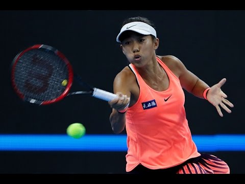 2016 China Open Round of 16 | Zhang Shuai vs Simona Halep | WTA Highlights
