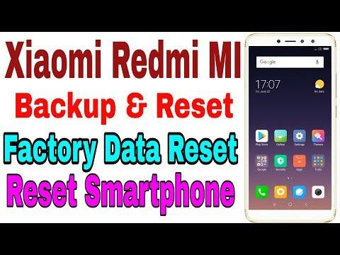 How to Reset Xiaomi Phone | Backup & Reset Redmi | Redmi Y2