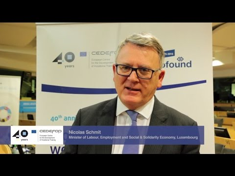 Interview with Nicolas Schmit, Minister of Labour, Luxembourg