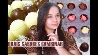 QUAIS SABORES DE TRUFAS EU COMBINO COM CADA CHOCOLATE /RENDA EXTRA EM CASA 😱💲 thumbnail