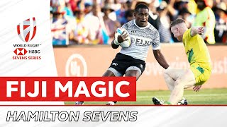 Fiji go from behind their own line to score insane try
