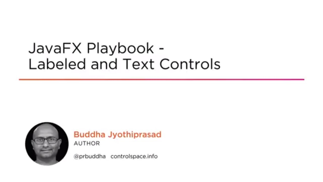 Using JavaFX Labeled and Text Controls | Pluralsight