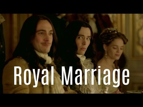 Philippe, Louis and Henriette - Royal Marriage (Versailles)