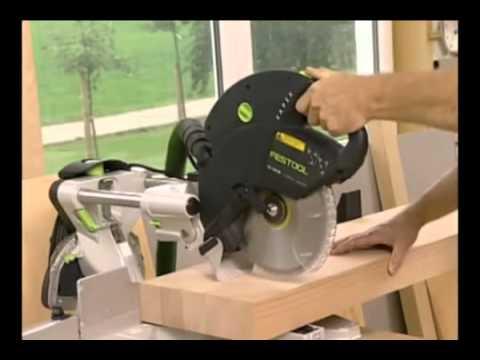 festool kapex ks 120 sliding compound miter saw presented by woodcraft youtube. Black Bedroom Furniture Sets. Home Design Ideas