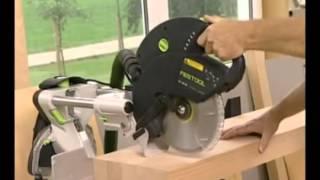 Festool Kapex Ks 120 Sliding Compound Miter Saw, Presented By Woodcraft