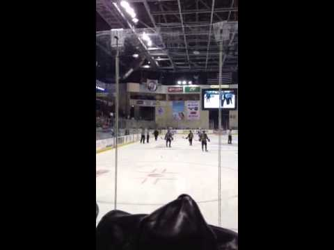 Wenatchee wild coach playing blind ref