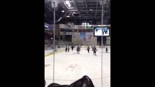 Wenatchee wild coach playing blind ref
