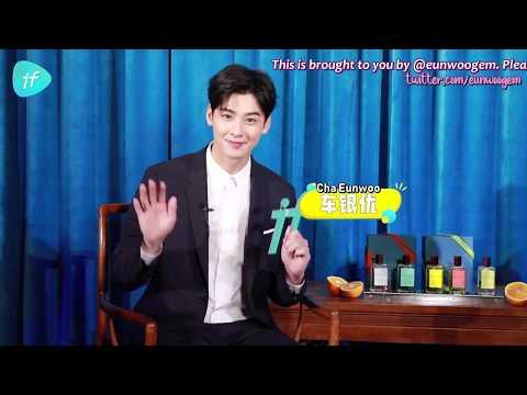 [ENG SUB/720P] 181130 if Video Interview - Cha Eunwoo
