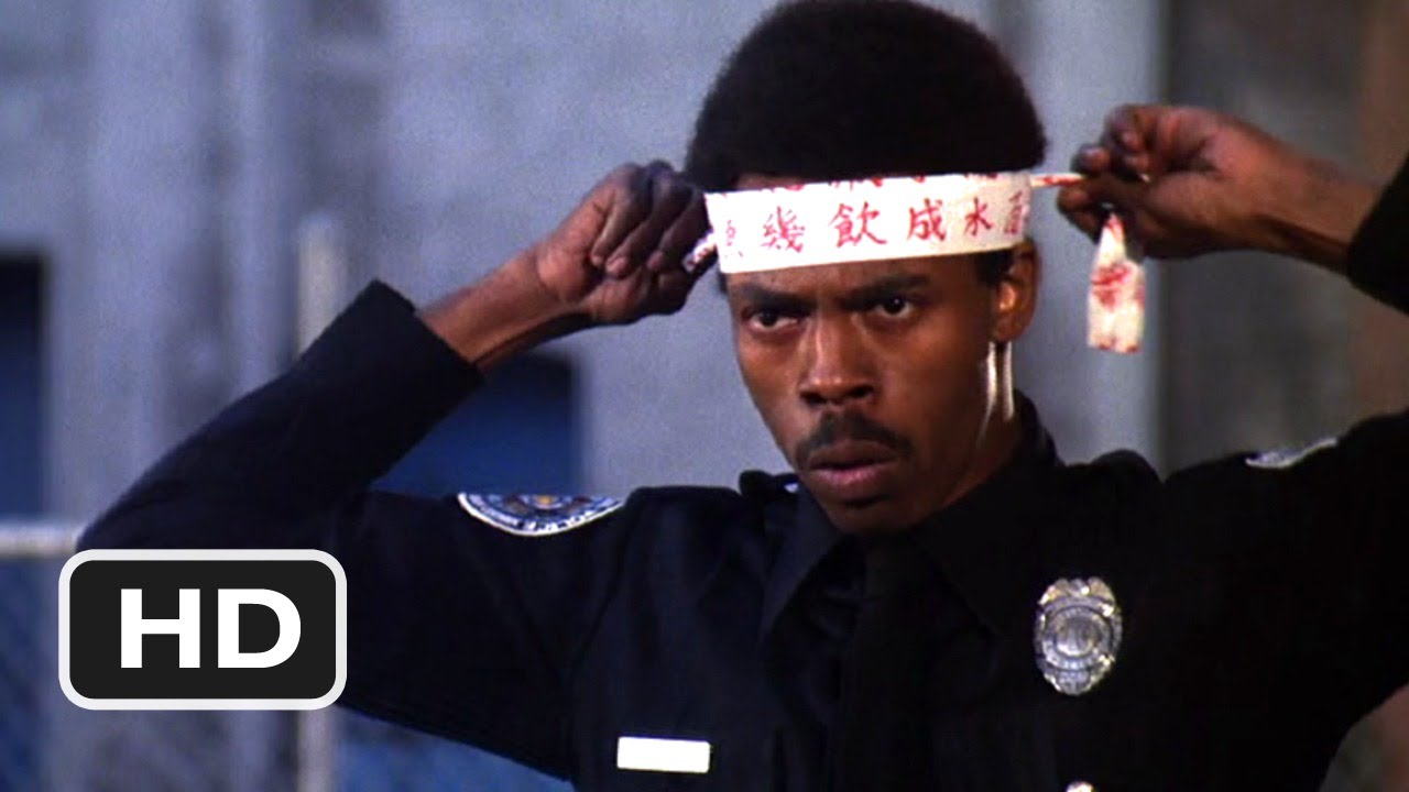 Download Police Academy 2 (1985) - He Thinks He's Bruce Lee Scene (6/9) | Movieclips