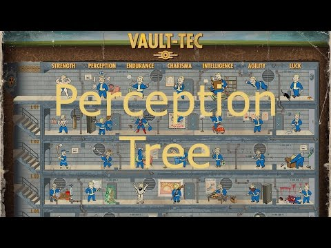 Fallout 4 Tips - Perception Tree