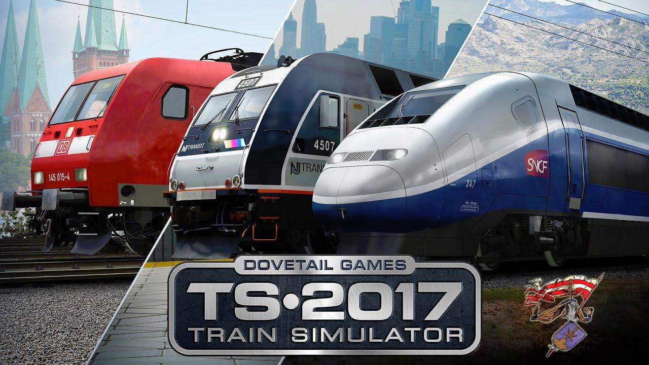 railworks train simulator 2017 avignon nach marseille sncf tgv duplex youtube. Black Bedroom Furniture Sets. Home Design Ideas
