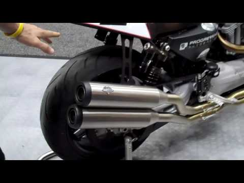 Vance and Hines new XR1200 race bike - Presented by J&P Cycles