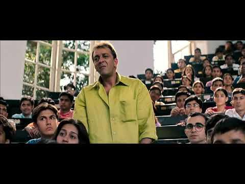 Download Munna Bhai MBBS   Class room comedy scene     YouTube
