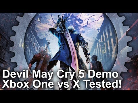 [4K] Devil May Cry 5 Demo: Xbox One/X Graphics Comparison - RE Engine Is Back! thumbnail