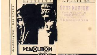 Demolition Group - You Better... ( 1986 Yugoslav Minimal Electro /Darkwave/Experimental)