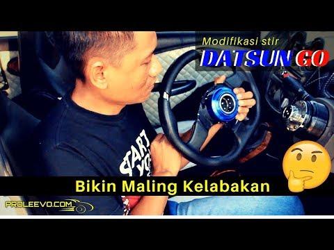 Unik, Ala MR. BEAN !! Modifikasi Stir Datsun Anti Maling   Proleevo Channel
