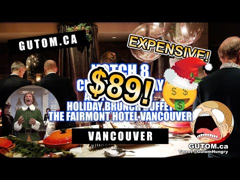 ALL YOU CAN EAT CHRISTMAS BUFFET AYCE NOTCH 8 FAIRMONT HOTEL | Vancouver Food Reviews - Gutom.ca