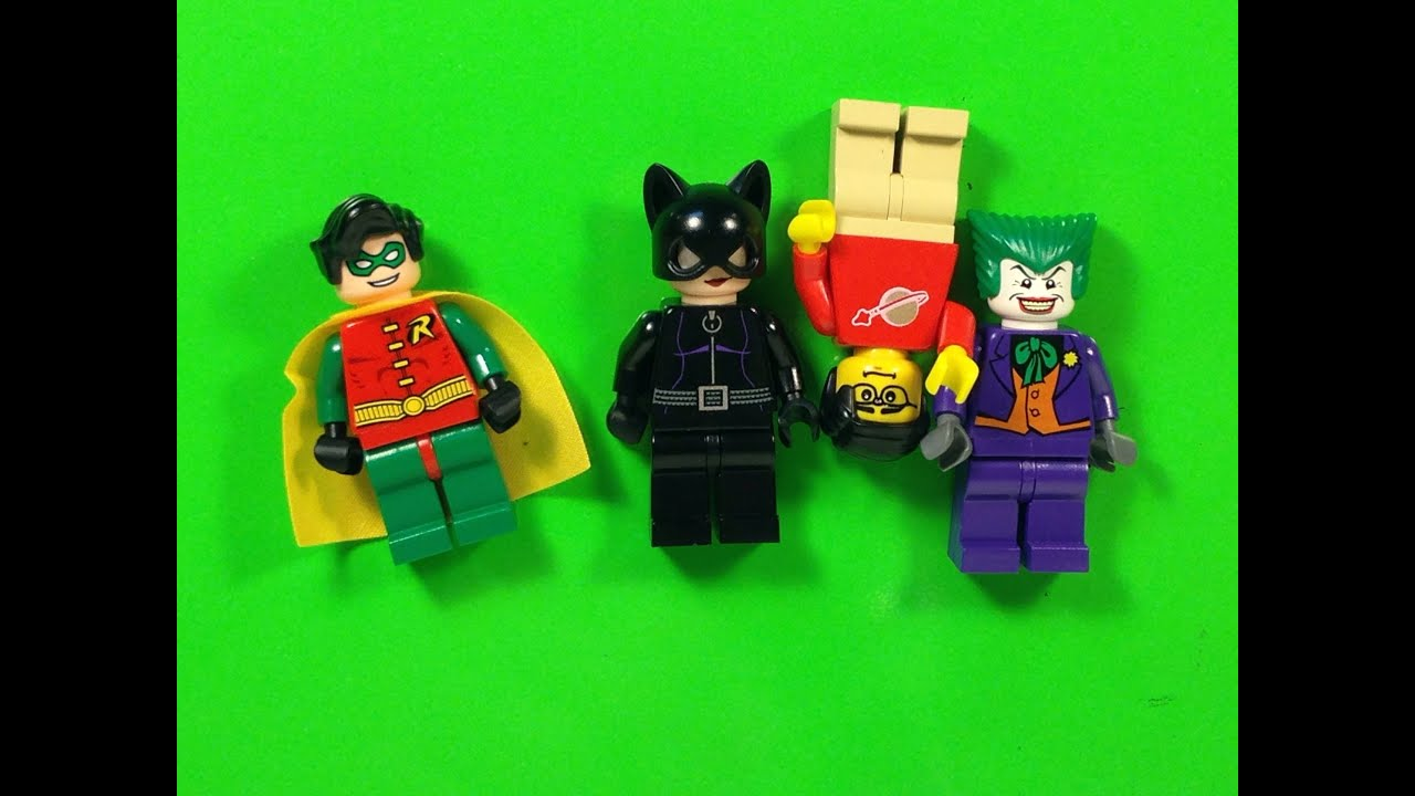Lego Batman 3 minifigs Magnets Batman The Riddler New in package Mr Freeze