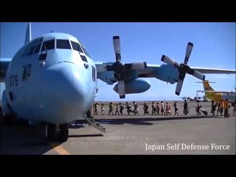 2013 Super Typhoon Yolanda. Japan Self-Defense Force