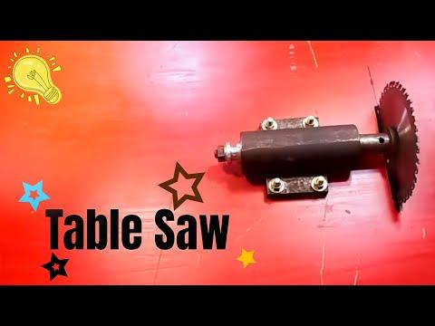 How to make a homemade Table Saw | Diy Table Saw Machine