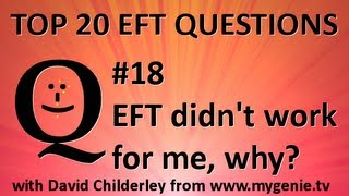 Q#18 EFT Tapping didn