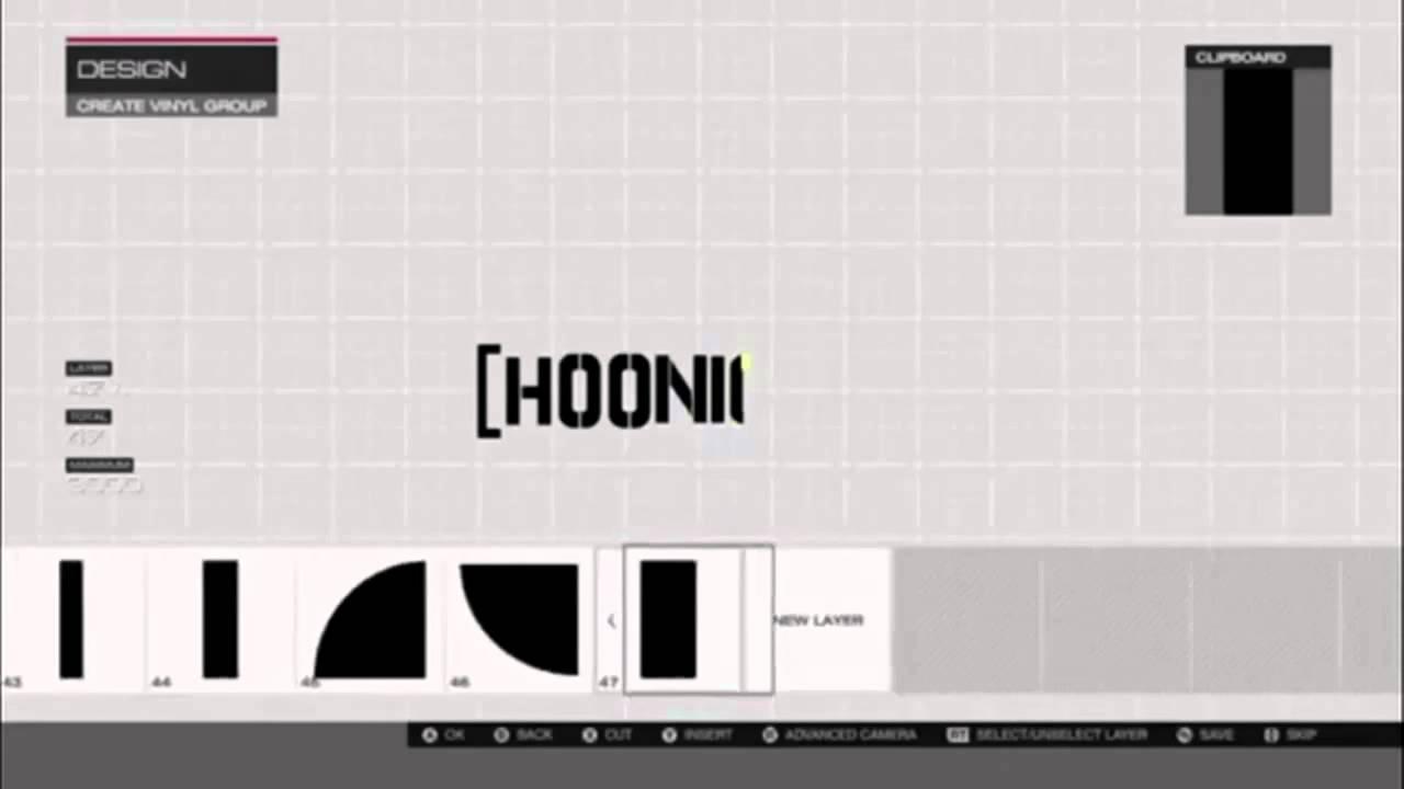 Forza 5 vinyl design showcase hoonigan logo youtube - Hoonigan logo ...