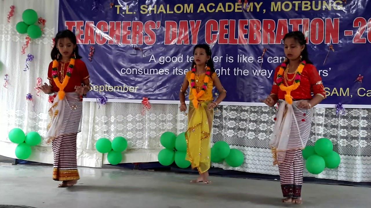 Manipuri Dance @class v 2018