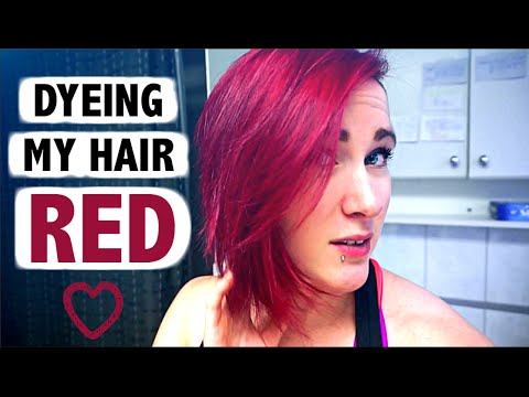 how to bright red hair without using bleach youtube