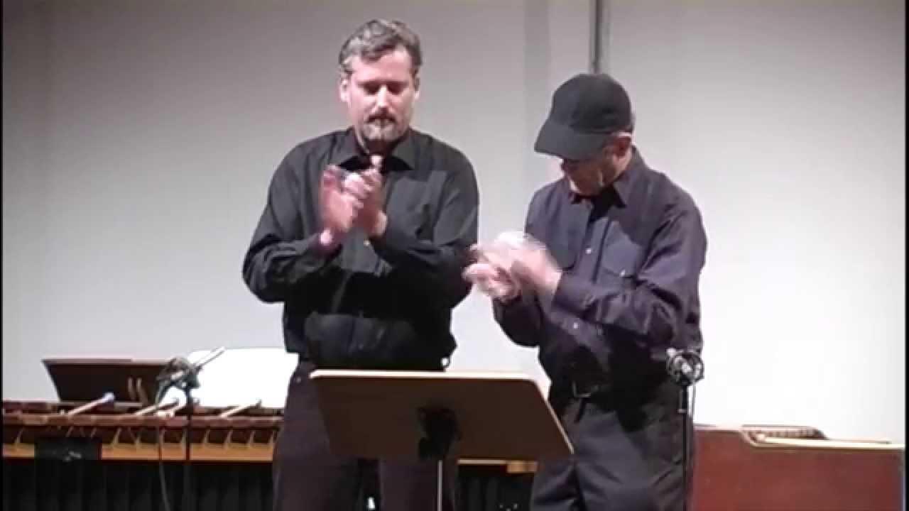 Steve Reich & Wolfram Winkel - Clapping Music
