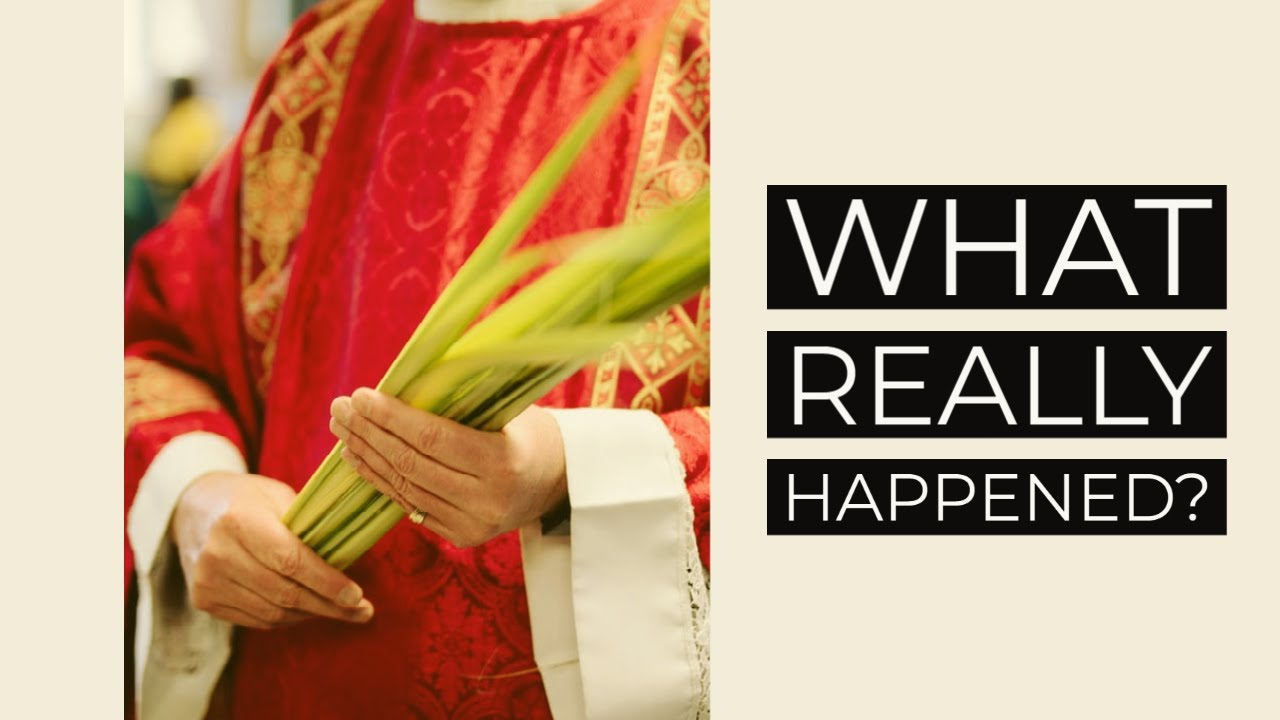 Holy Week begins with Palm Sunday for Christians, Passover for Jews
