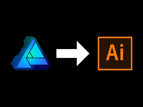 Exporting Affinity Designer Files for Adobe Illustrator thumbnail