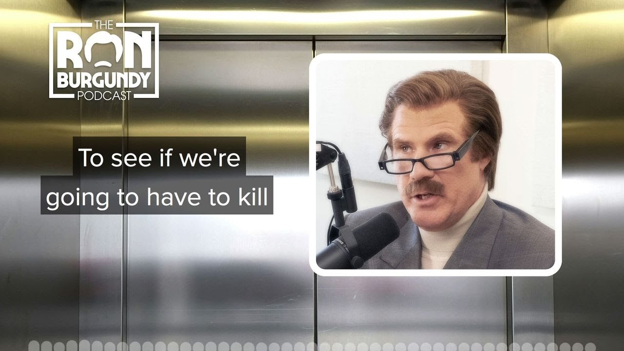 Ron Burgundy Is Not Afraid Of Cannibalism In An Emergency