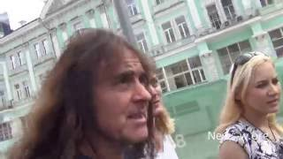 IRON MAIDEN & fans - day before Moscow show 25.06.2016