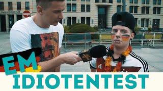IDIOTENTEST - Fußball EM-Special