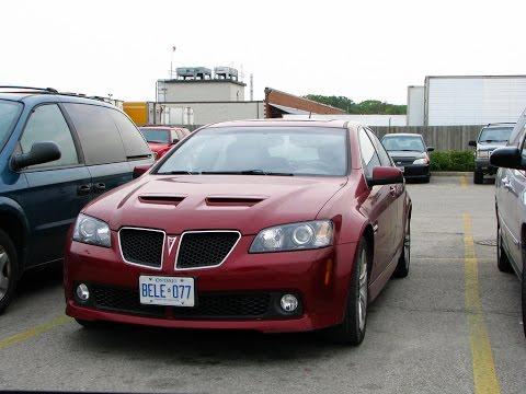 Best Pontiac G8 exhaust sound compilation