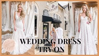 Wedding Dress Try On!    Kelly Hoover