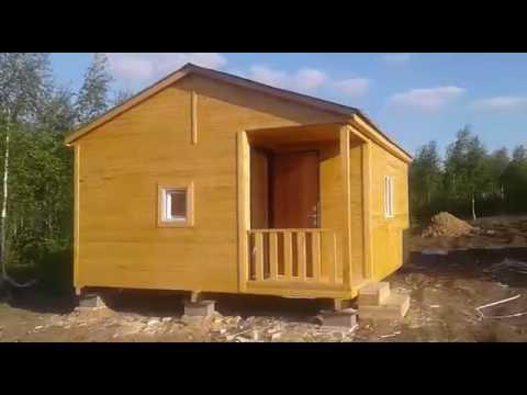 Дачные домики с верандой недорого