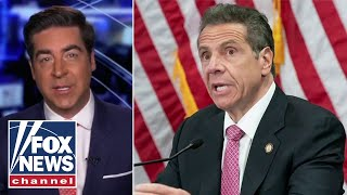 Jesse Watters: Cuomo continues to embarrass himself over COVID statements