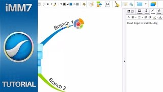 Inserting Notes - iMindMap 7