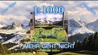 1:1000  MEHR geht NICHT - Peter Röpke