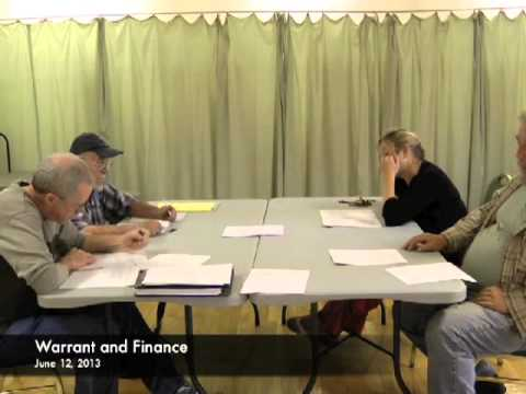 Warrant and Finance - 06-12-2013