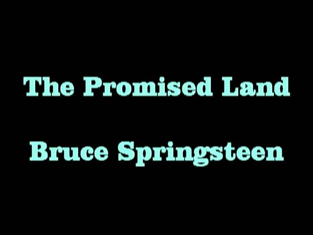 The Promised Land Bruce Springsteen Chords Chordify