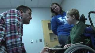 Uk, Ipad Help 5-year-old Find His Voice