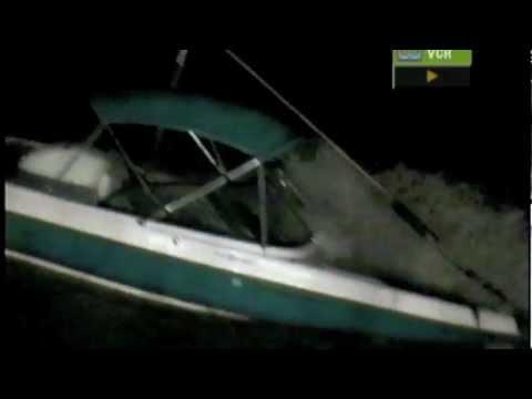 Boat sank during a monsoon in Lake Havasu!!