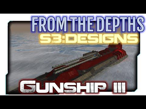 From the Depths:S3 Designs 21 - Rail Gun-ship